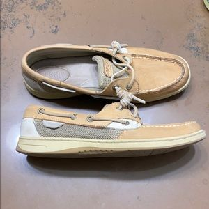 Tan Sperry's - relaxed fit
